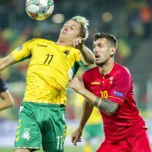 Lietuvos rinktinei per rungtynes su ukrainiečiais ir portugalais teks verstis be traumuoto A.Novikovo.