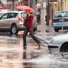 Realybė: pasak klimatologų, reikšmingus pokyčius žemėje išduoda temperatūros svyravimai.