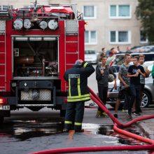 Vilniuje, namo rūsyje, nugriaudėjo sprogimas: sunkiai sužalotas vyras