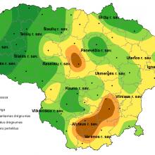 Lietaus dar trūksta: stichinė sausra išlieka Elektrėnų ir Trakų rajonuose
