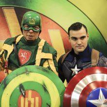 Vilniuje – Kapitono Lietuvos ir Kapitono Amerikos susitikimas