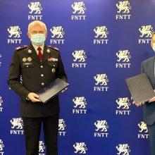 FNTT ir SAM pasirašė bendradarbiavimo susitarimą: sieks finansinio skaidrumo