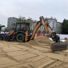 To dar nebuvo: Vilnius turės paplūdimį pačiame miesto centre