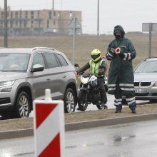 Klaipėdos policijai darbo netrūko: per parą patikrino 13 tūkst. automobilių