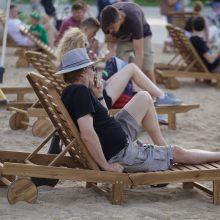 Bus išardytas daug ginčų įplieskęs Lukiškių aikštės paplūdimys