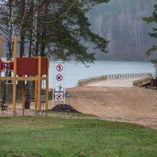 Vilniečiai apsidžiaugs: rekonstruotas Žaliųjų ežerų poilsiavietės tiltas