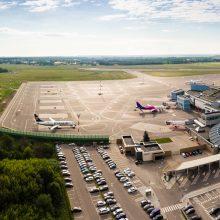 Vilniaus oro uoste vėl planuojama rekonstrukcija: trikdžių skrydžiams nebus