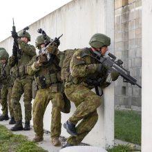 """Brigadai """"Geležinis Vilkas"""" – NATO testas"""