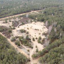 Į poligono teritoriją patekusi Dumsių kopa liks prieinama lankytojams