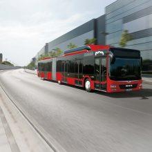 Vilnius atnaujina miesto transportą – pirks dar 50 naujų autobusų
