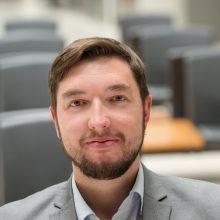 Sostinės vicemeras Vytautas Mitalas