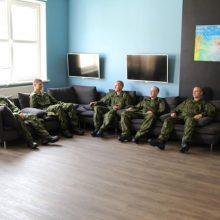 Tarnybą Tauragės rajone pradeda pusė tūkstančio šauktinių