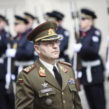 Generolas majoras V. Vaikšnoras iškilmingai išlydėtas į atsargą