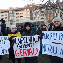 Dar ne pabaiga: prie streiko ruošiasi jungtis per tūkstantį mokytojų