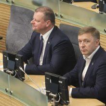 Valdantieji tęsia derybas dėl koalicijos