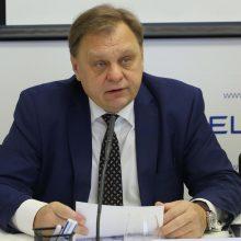 V. Sutkus žada tartis su verslo bendruomene dėl ateities LVK prezidento pareigose