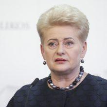 Prezidentė: siekiame, kad kovai su koronavirusu paaukoti pinigai liktų Lietuvoje