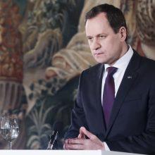 """V. Tomaševskis: """"valstiečių"""" bandymas mobilizuoti rinkėjus nepavyko"""