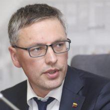 Teisėjų tarybos vadovas: V. Bako teiginiai kelia pavojų demokratijai