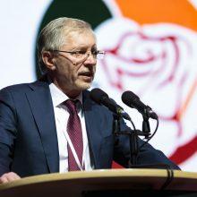 Socialdemokratų darbo partija prezidento rinkimuose remia G. Nausėdą