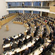 Referendumas dėl Seimo narių skaičiaus mažinimo: opozicija kreipiasi į KT