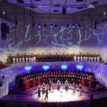 VU chorų koncerte – viso sezono programų perliukai