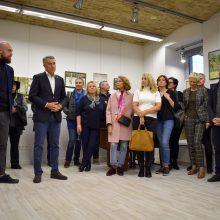 Europarlamentaras P. Auštrevičius Vilniuje atidarė naują biurą
