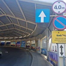 Vilniaus oro uoste – remontai: naktimis bus eismo ribojimų