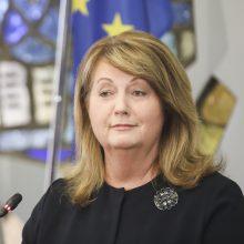 V. Blinkevičiūtė apie konservatorių ir prezidento ginčą: peržengtos bet kokios ribos