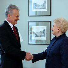 Elitas įtakingiausia laiko D. Grybauskaitę, visuomenė – G. Nausėdą