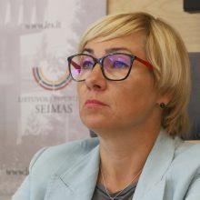 Ministrė: kur mažesnis sergamumas į mokyklas vaikai galėtų grįžti anksčiau