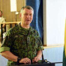 Lietuvos kariuomenės vadas dalyvaus NATO karinio komiteto susitikime