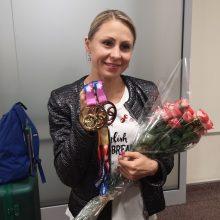 Europos čempionė L. Asadauskaitė: po traumos į varžybas grįžti su didesniu noru