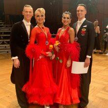 Lietuvos šokėjai varžybose Vokietijoje iškovojo auksą
