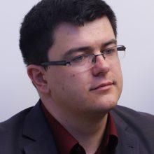 Nacionalinio susivienijimo partijos pirmininko pavaduotojas Vytautas Sinica