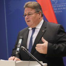 L. Linkevičius dalyvaus JT Generalinėje Asamblėjoje Niujorke