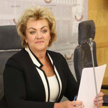 Seime žlugo iniciatyva surengti apkaltą I. Rozovai