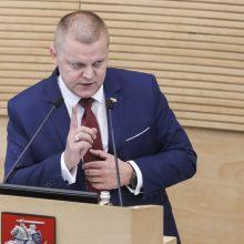 Nacionalinio saugumo ir gynybos komiteto pirmininkas Dainius Gaižauskas