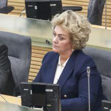 Tyrimui dėl I. Rozovos ryšių su rusų diplomatais – žalia šviesa
