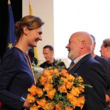 Liberalų sąjūdis pirmininke išsirinko V. Čmilytę-Nielsen