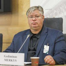 Socialinių mokslų daktaras prof. Gediminas Merkys
