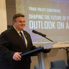 Ministras L. Linkevičius skatina išnaudoti verslo galimybes Azijoje