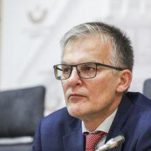 Seimo vicepirmininkui J. Sabatauskui nustatytas koronavirusas