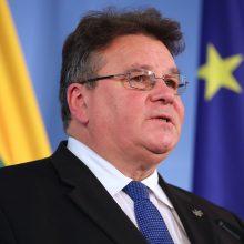 """L. Linkevičius: """"šnipų mainai"""" – glaudaus bendradarbiavimo su Norvegija pavyzdys"""