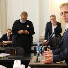 """""""MG Baltic"""" byloje liudija R. Raulynaitis: ne aš čia filosofas, o prokuroras"""