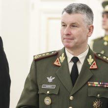 Kariuomenės vadas vyksta oficialaus vizito į Estiją