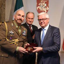 Akredituotas naujasis Italijos gynybos atašė Lietuvai