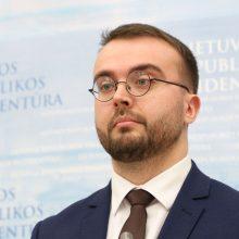 P. Mačiulis: G. Nausėda negali viešinti J. Narkevičiaus įdarbintų partiečių