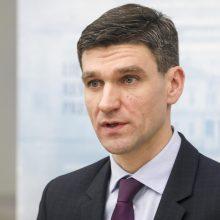 S. Krėpšta svarstytų pasiūlymą užimti Lietuvos banko vadovo vietą