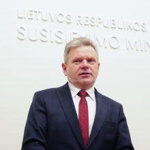 Ministras su laikinuoju Kelių direkcijos vadovu aptars pasirengimą pertvarkai
